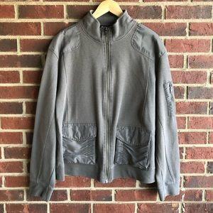 2 for $20 | INC | Gray Zip Jacket